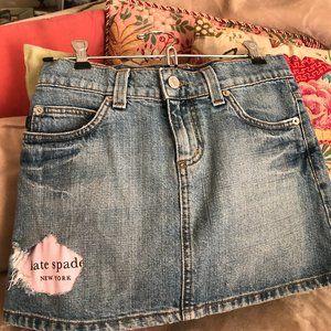 Juicy Couture Distressed Denim Blue P skirt